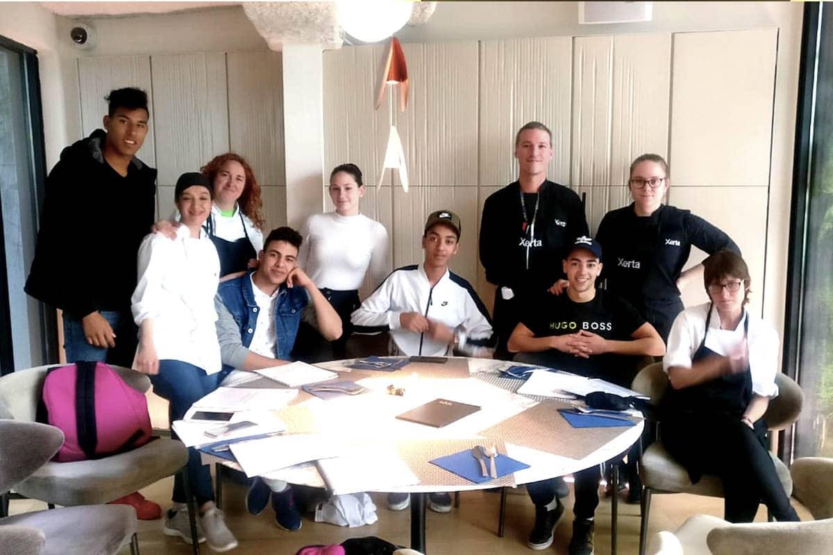 Curs d'auxiliar de cuina en col·laboració amb Incorpora de La Caixa - Escola de Cuina Villa Retiro del xef Fran López a Xerta Restaurant