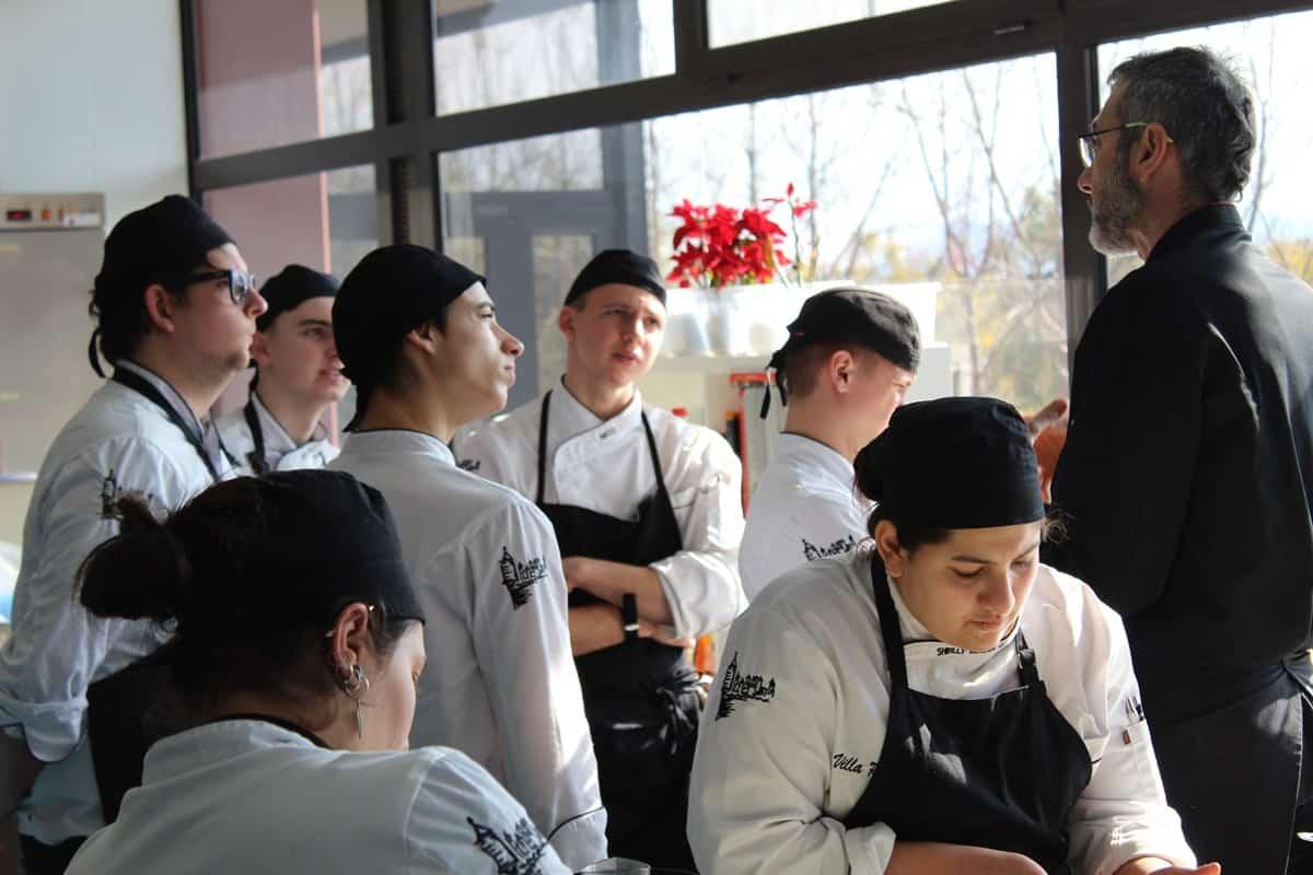 Formacion Tecnica en Cocina Escuela Villa -Retiro fran lopez estrellas michelin