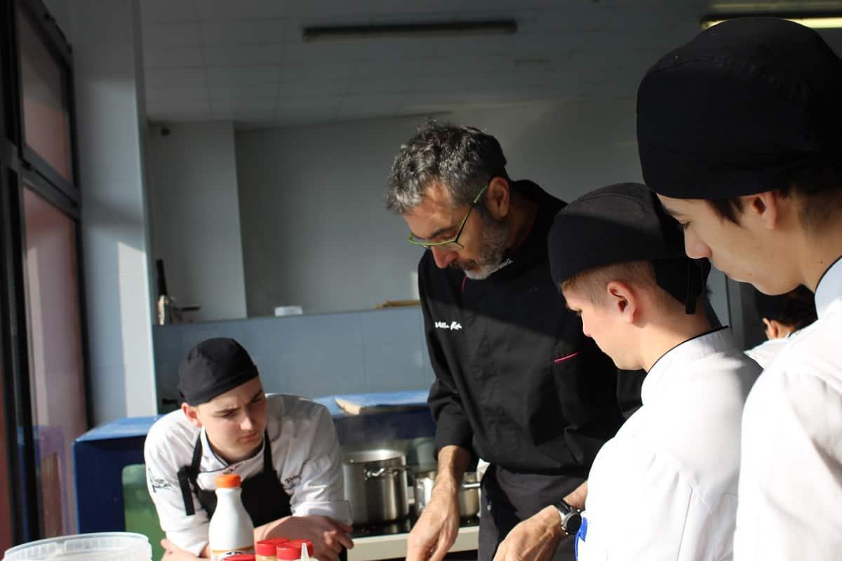 Formacion Tecnica en Cocina Escuela Villa retiro- fran lope- estrellas michelin