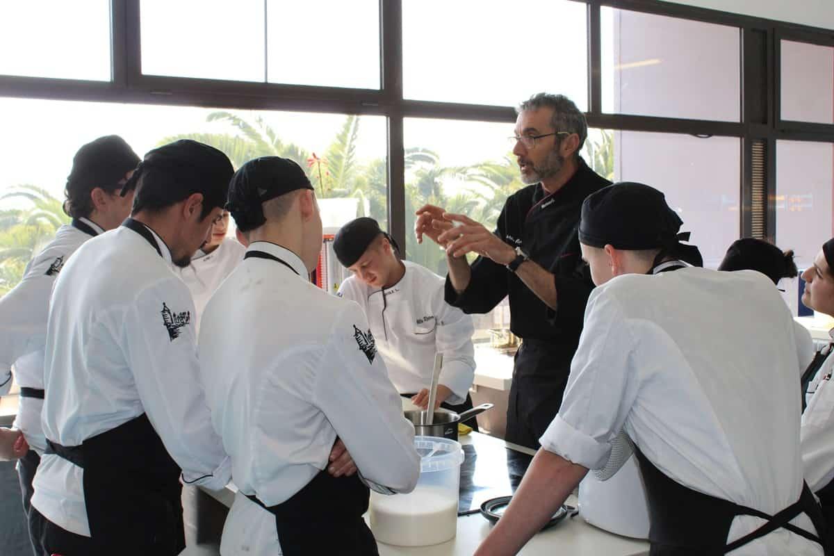 Formacion Tecnica en Cocina Escuela Villa retiro fran lopez 2-estrellas michelin