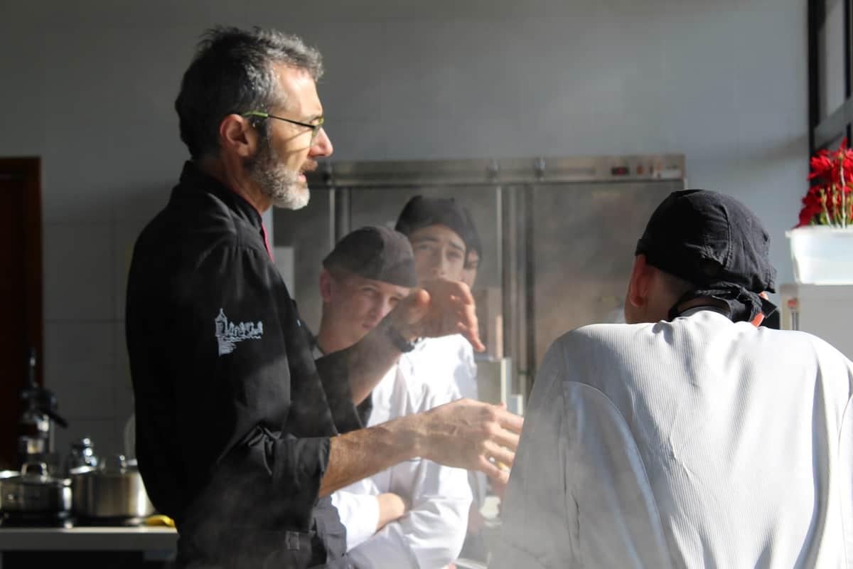 Formacion Tecnica en Cocina Escuela Villa retiro fran lopez estrellas michelin