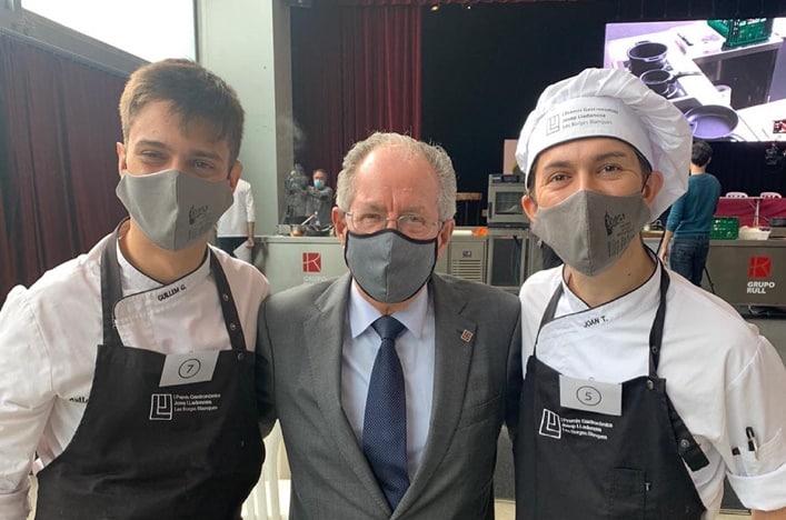 Guillem Garcia se proclama ganador del concurso de cocina gastronómica Josep Lladonosa
