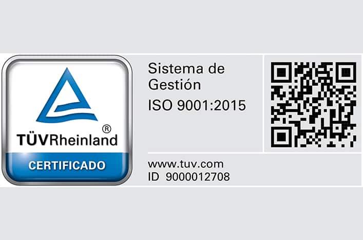 ertificación ISO 9001:2015